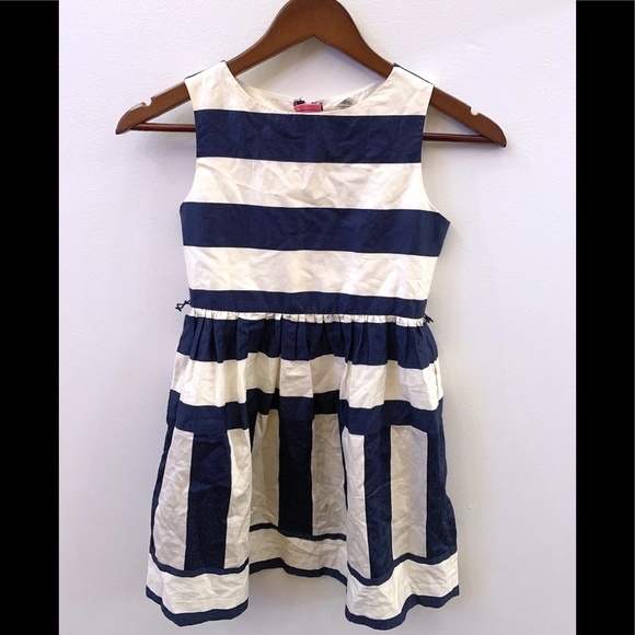 Crewcuts Other - Crewcuts navy and white dress